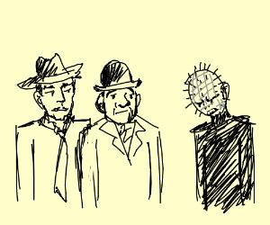 Abbott & Costello Meet Hellraiser - Drawception