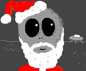 Alien is Santa