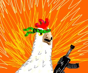 Commando Chicken.