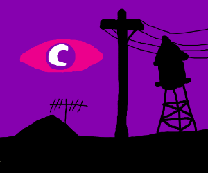 nightvale and purple football with a c on it