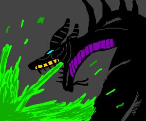 Maleficent DRAGON FORM! :D