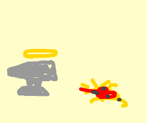 Holy Anvil and spaghetti