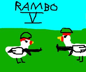 Rambo 5: The Chicken Wars