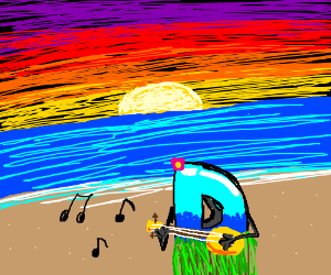 Drawception plays the uke