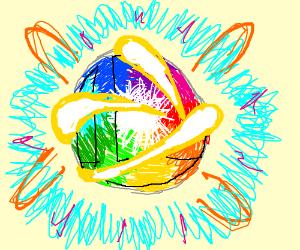 The Super Smash Bros Brawl Rainbow Ball