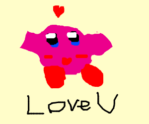 Kirby loves you