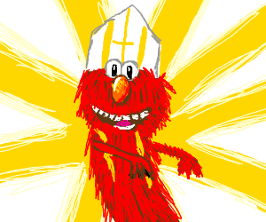 Elmo is the new Pope