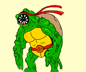 Further mutated mutant ninja turtle