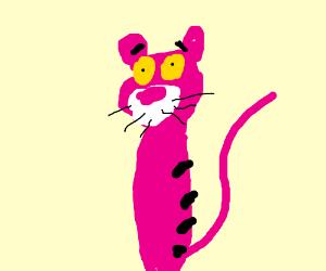 Pink Panther got his stripes