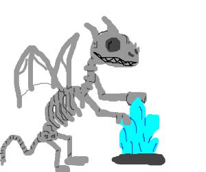 Crystal Skeleton Dragon