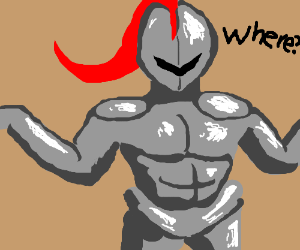 Knight asks Where