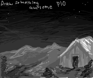 Draw something awesome PIO