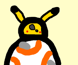 BB-8 is actually Pikachu