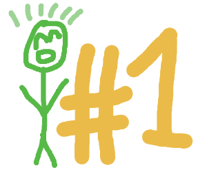 Green guy is super #1