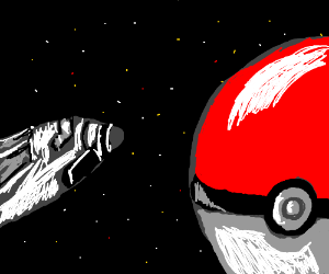 The US successfully lands on planet Pokeball