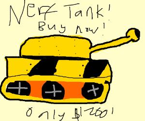 Nerf Tank! Buy now!