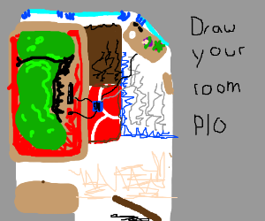 Draw your room PIO