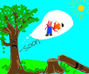 Tree plots revenge