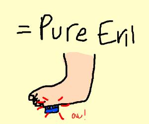 Lego + Foot