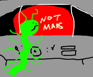 Alien saying not mars