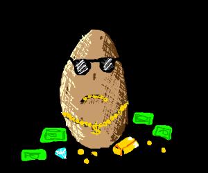 A rich potato :3