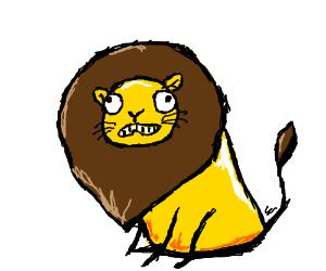 Derpiest lion