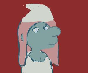 Mona Lisa Smurf