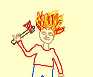 firehaired axe murderer