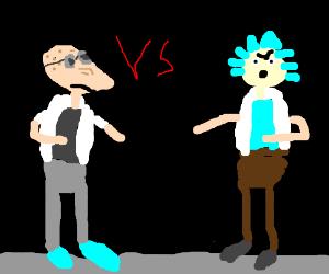 Prof Farnsworth vs Grandpa Rick