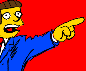 Phoenix Wright in the Simpsons' Universe