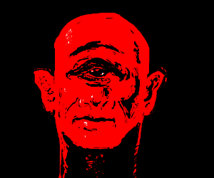 Cyclops red man