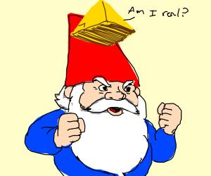 existential pyramid atop meme gnome
