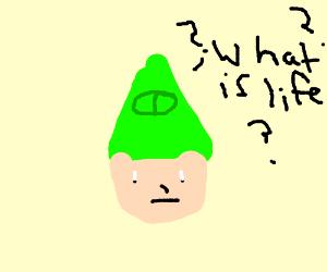 Link denies himself