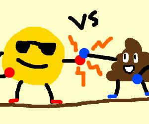 emoji boxing match drawing by turtleoverlord drawception