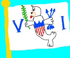 Seal is in the US Virgin Islands flag