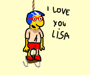 Millhouse Commits Suicide for Lisa