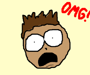 "Man yells ""OMG!"""