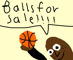 Seal is selling balls
