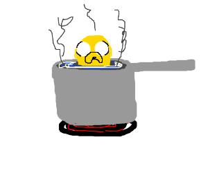 Jake the dog soup