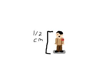 a tiny hitler