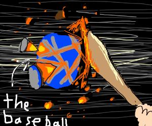 Planetary baseball.