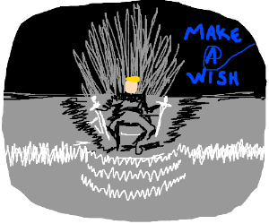 Make a Wish Dream: To Sit on the Iron Throne