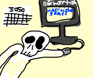 Died waiting for Drawecption games to finish