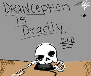 Man plays Drawception to death