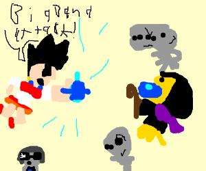 Sailor Vegeta v Viceroy Bubbles von salamancer