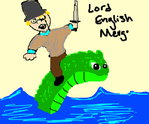 Lord English merges with a seadwweller?