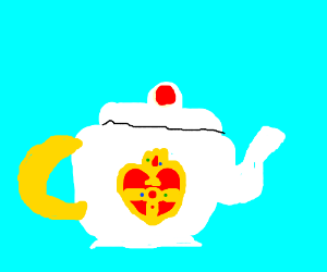 Sailor moon teapot