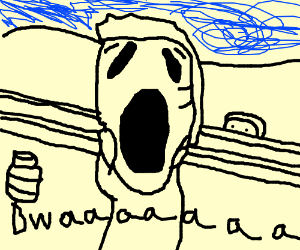 """king of the hill """"The Scream"""""""