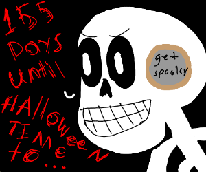 days until Halloween. Get spoopy.