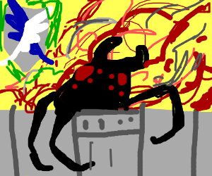 Attack of the spiders!